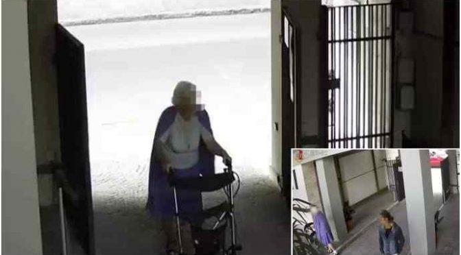 Scippo brutale: 88enne con deambulatore rapinata da immigrato – VIDEO
