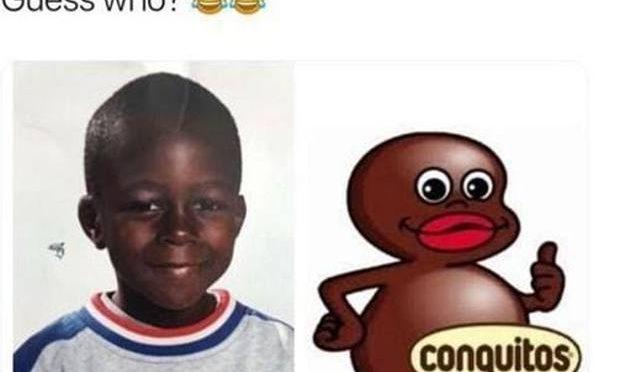 Calciatore squalificato per un meme 'razzista' sul compagno di squadra