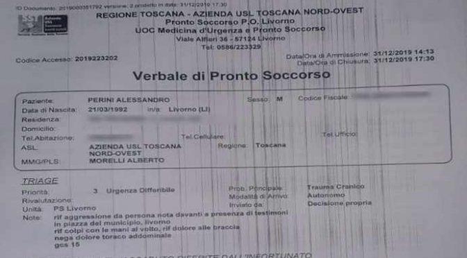 Leghista pestato da una decina di 'sardine' a Livorno – VIDEO