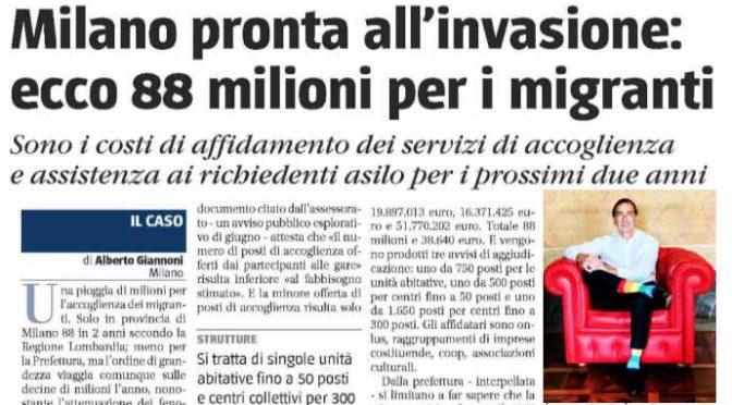 Milano, il PD si prepara ad accogliere 350 immigrati