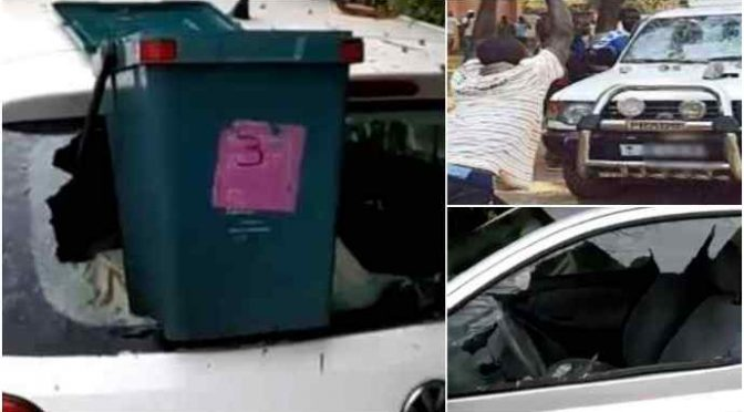 Auto e vetrate distrutte: nigeriano devasta quartiere – FOTO