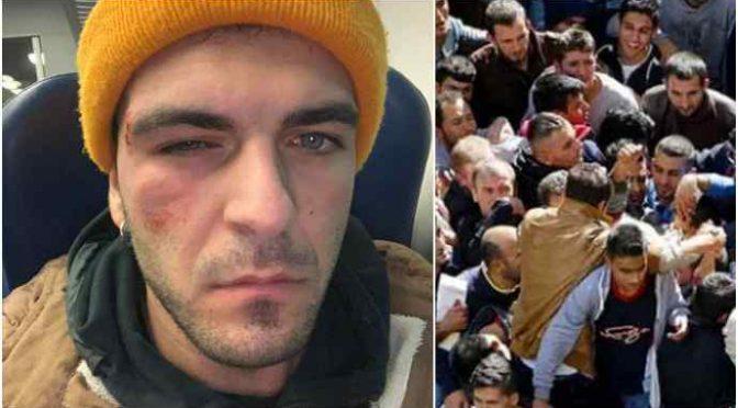 Circondato e pestato da nordafricani mentre torna a casa in treno: coltello alla gola per una sigaretta