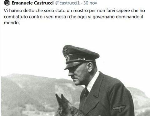 """Tweet provocatorio su Hitler, prof sarà punito: """"Sono libero di pensare quello che voglio"""""""