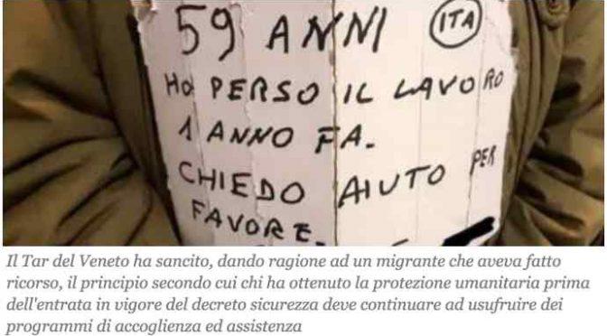 Giudice ordina: anche i finti profughi devono rimanere in hotel a spese degli italiani