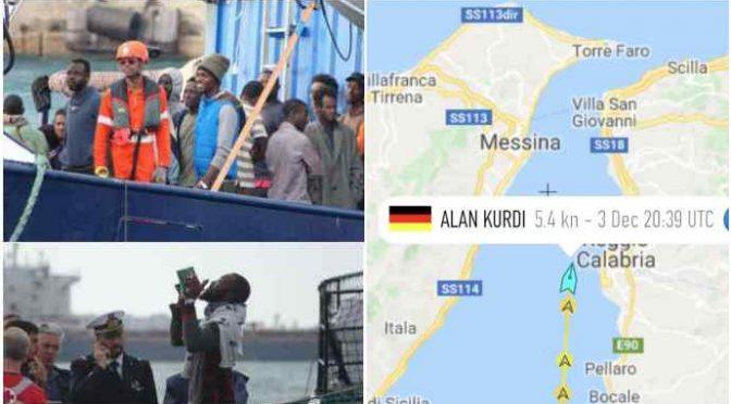 Altri 3 scafisti si nascondevano a bordo dell'Ong tedesca sbarcata a Messina