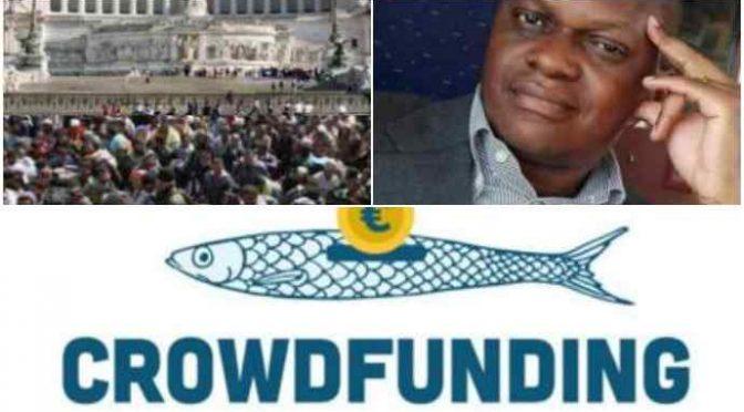 Sardine a caccia di donazioni: i soldi li prenderà Ogongo