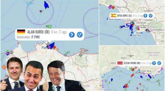 Col governo Pd-M5s l'Italia è la p*ttan@ delle ONG: i nostri porti sono loro