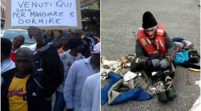 AFRICANO SPACCA LA TESTA A SENZATETTO ITALIANO: MILANO NO GO ZONE
