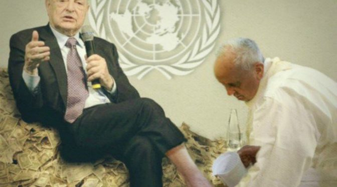 Bergoglio vuole realizzare il sogno dell'Anticristo: una 'religione universale'