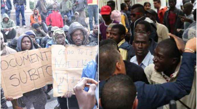 GUERRIGLIA AFRICANA: ABBIAMO IMPORTATO IL NEMICO SUI BARCONI – VIDEO