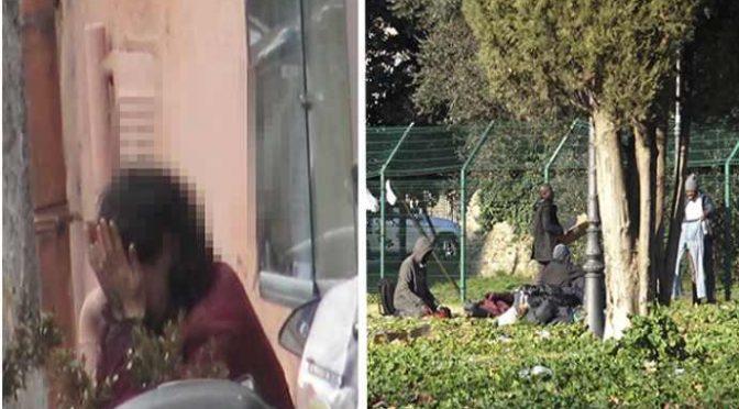 """Roma, donna in balìa degli immigrati:""""la molestano ogni giorno"""" – VIDEO"""
