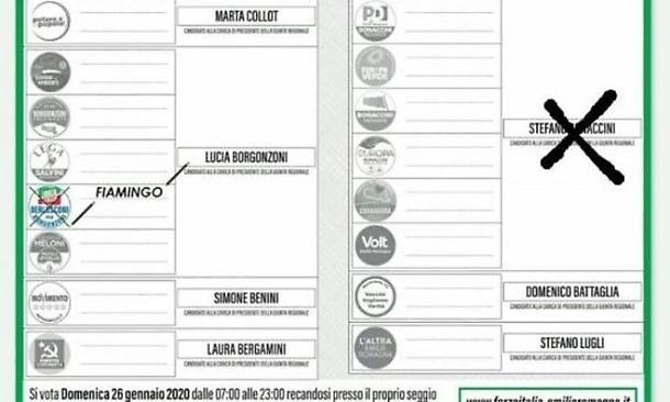Bonaccini: diffusi volantini falsi per farlo votare da elettori Forza Italia, pericolo brogli disgiunto