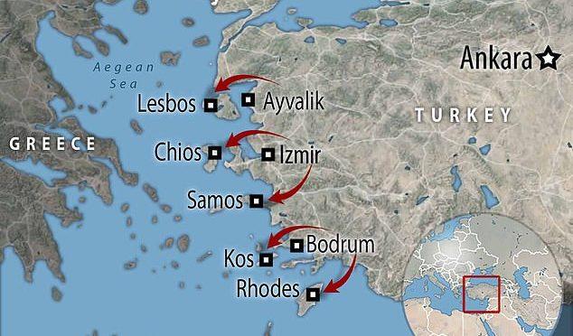 Grecia: un muro galleggiante di 2,7 km per fermare i clandestini