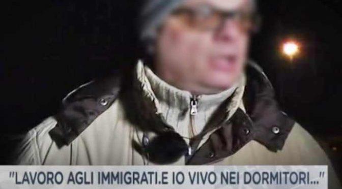 """Italiani vivono per strada:""""Farei qualsiasi lavoro, ma assumono solo immigrati"""" – VIDEO"""