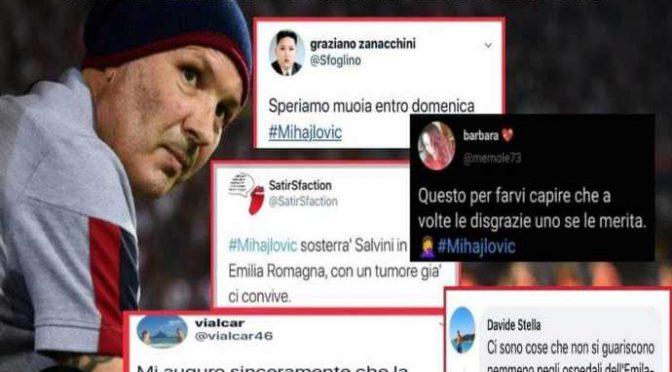 """Anche assessore Bonaccini contro Mihajlovic: """"Non lo avrebbero curato"""""""