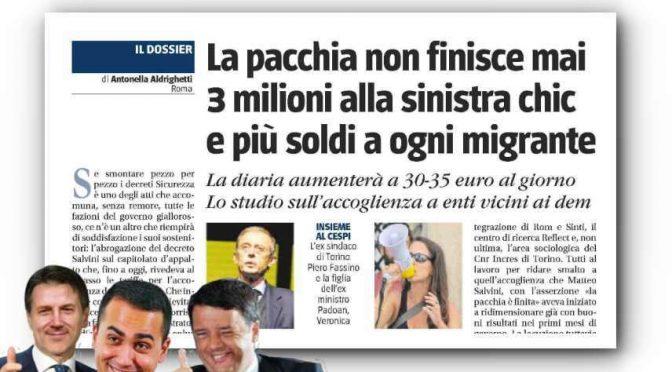 Tornano i 35 euro: pioggia di soldi sulle COOP del PD
