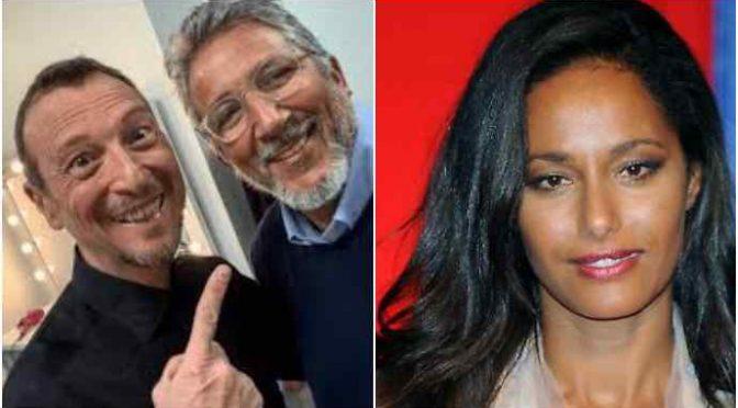 Rula Jebreal imposta a Sanremo da Renzi: il ruolo del manager di Amadeus