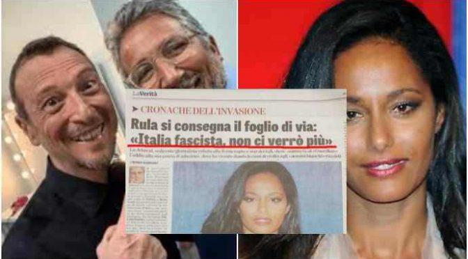 Rula Jebreal: 25mila euro per 5 minuti di monologo contro gli italiani