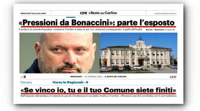 """""""Ritorsioni di Bonaccini se voti Lega"""": telefonata lo incastra – VIDEO"""