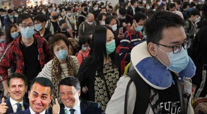 Coronavirus: 100 milioni di cinesi in 'quarantena', noi li lasciamo entrare a scuola