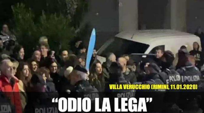 Emilia Romagna, sardine minacciano Salvini – VIDEO