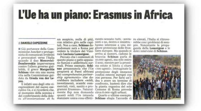 Piano Ue: studenti africani senza frontiere, Erasmus in Africa