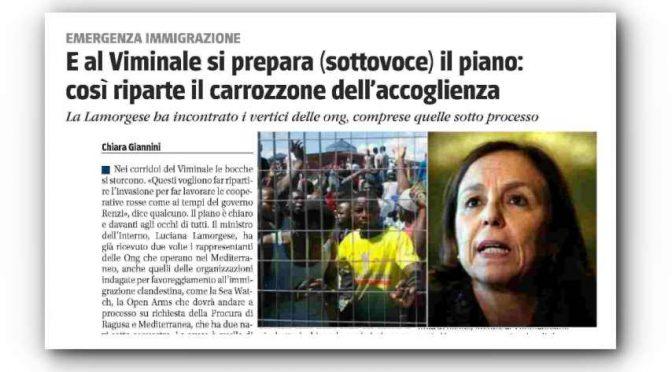 Governo riapre centri accoglienza chiusi da Salvini per ospitare gli sbarcati positivi