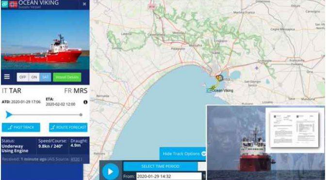 Ong francese scarica 400 clandestini in Italia e poi va a Marsiglia: VUOTA