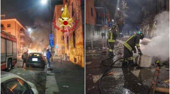 """Vigili del fuoco accerchiati in quartiere multietnico: """"Ci lanciavano di tutto per non farci spegnere incendio""""- VIDEO"""