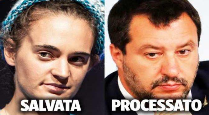 """Rackete vuole Salvini in galera: """"Presto lo mandiamo a processo"""""""