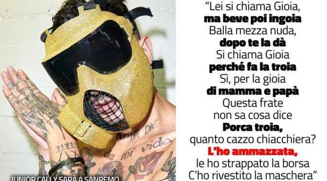 """Junior Cally, Salvini attacca: """"Non deve mettere piede a Sanremo"""""""