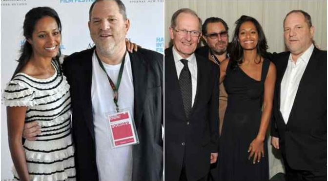 """Rula Jebreal, parlaci delle foto con Harvey Weinstein a Sanremo"""