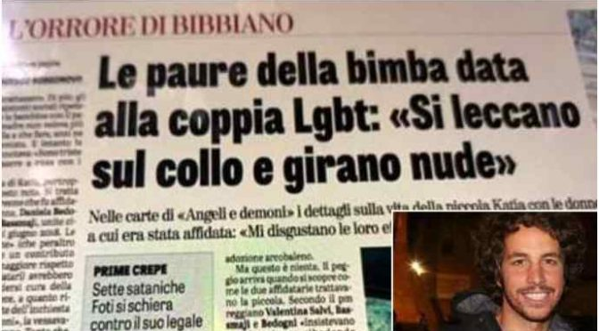 "Bimbo Santori: ""La piazza di Bibbiano è nostra"""