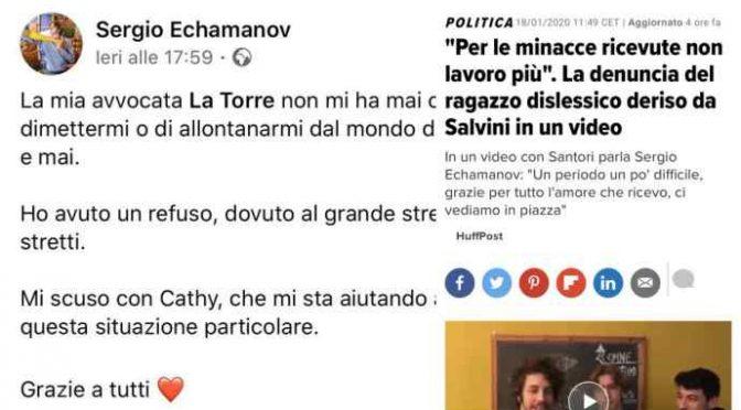 """Sardina confessa: """"Ho inventato tutto"""", nessuna minaccia Salvini, voleva la scorta"""
