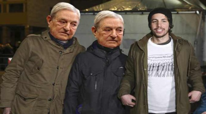 Soros investe 1 miliardo di euro per indottrinare i vostri figli: vuole trasformarli in 'sardine'