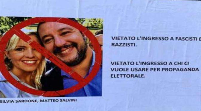 """Abusivi e immigrati organizzano """"cena anti-Salvini"""" in palazzi occupati"""