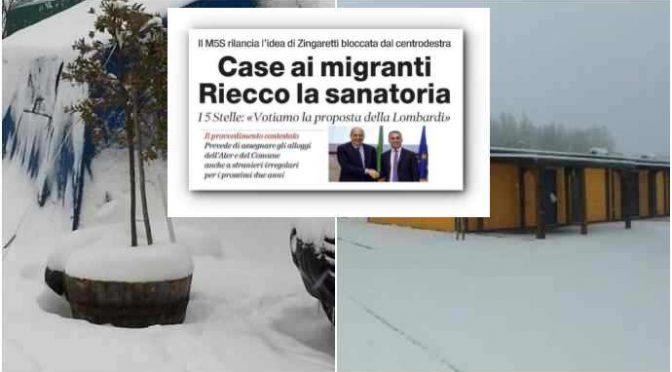 Terremotati: 4° Capodanno al gelo mentre il governo trova casa ai migranti