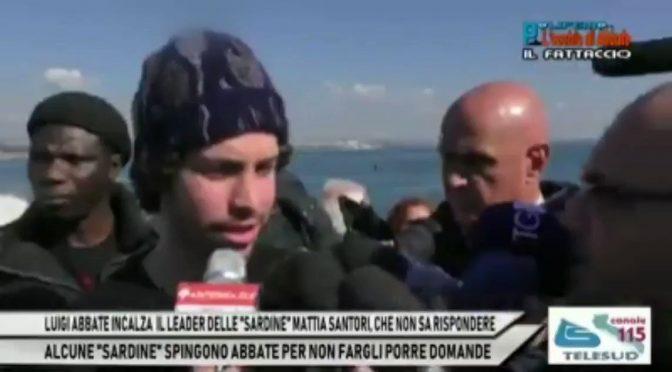Santori contestato anche a Taranto: sono scoppiati – VIDEO