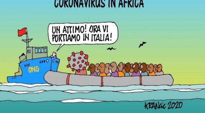 Flotta Ong torna in Nordafrica per traghettare il Coronavirus in Italia