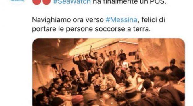 Coronavirus? ONG tedesca scarica 200 clandestini a Messina: è un governo criminale