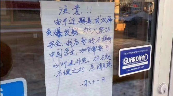 Coronavirus, ristorante cinese vieta l'ingresso ai cinesi