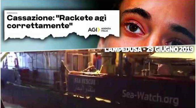 """""""Sea Watch con 600 tonnellate contro la nostra motovedetta. Potevamo morire…"""" – VIDEO"""