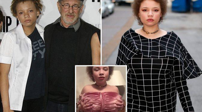 Mikaela, la figlia adottiva di Spielberg si dà al porno per curare i suoi problemi mentali