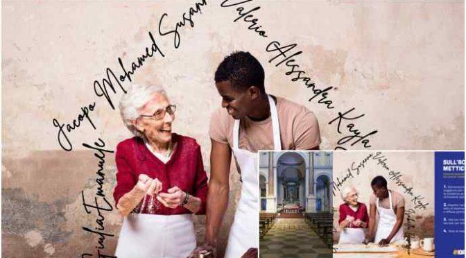 In chiesa i volantini che invitano gli anziani a prendersi gli immigrati in casa