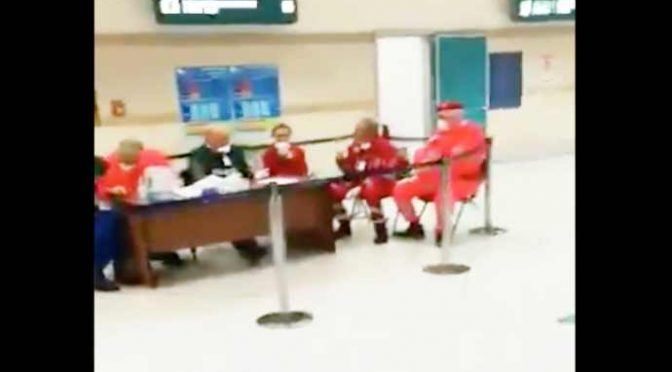Coronavirus, i controlli farsa del governo negli aeroporti – VIDEO