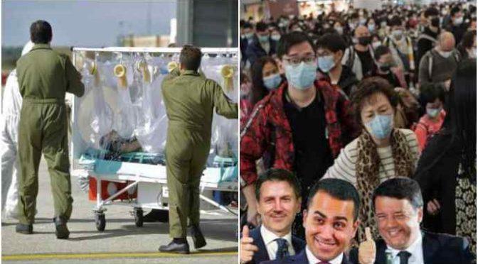 """Coronavirus, l'ultima del governo: """"Quarantena fiduciaria per i *cinesi"""""""