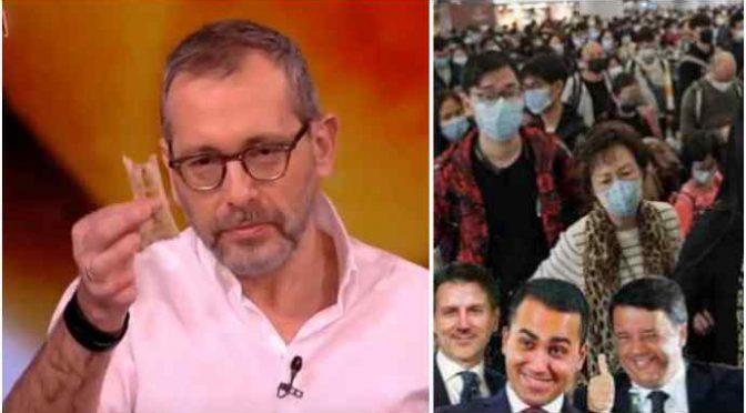 """Coronavirus, epidemiologo accusa Governo: """"Arrivato in Italia con i cinesi"""""""