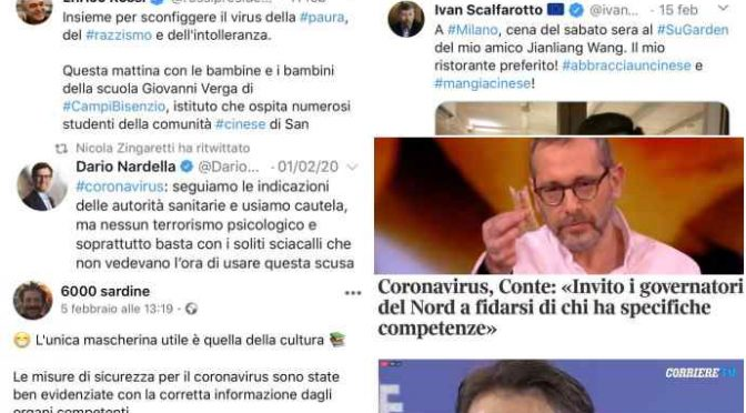 Questi buonisti hanno ucciso 2 italiani: il Coronavirus è in Italia 'grazie' alla loro stupidità