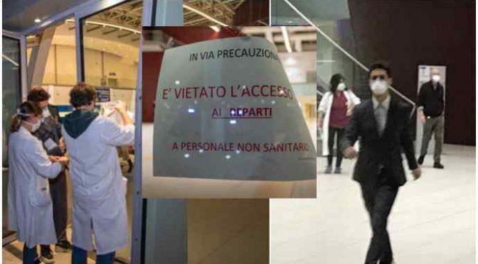 Coronavirus: 450 in quarantena dentro l'ospedale di Schiavonia, Padova