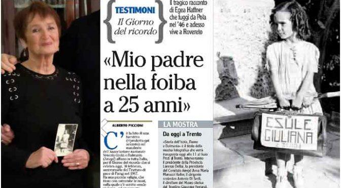 """PD: """"Foibe esagerate, servivano solo per seppellire velocemente gli italiani"""""""